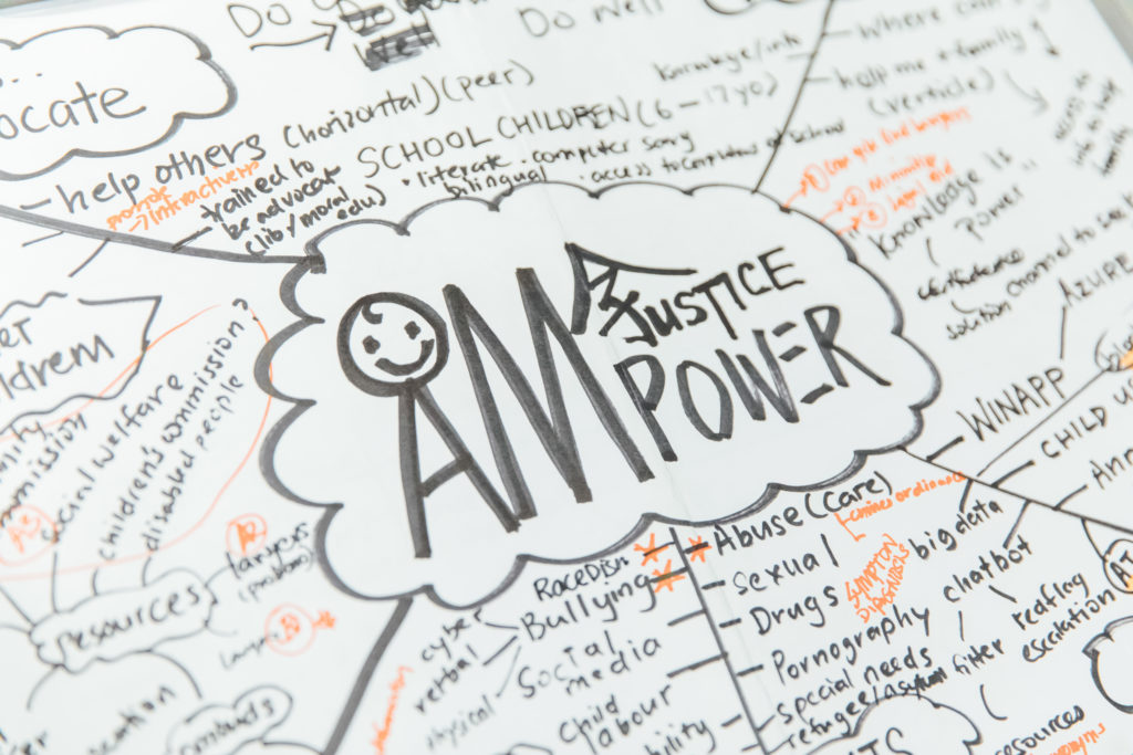 Photo of illustration: AMPOWER aims to incorporate a chatbot that will provide teens with advice and resources.