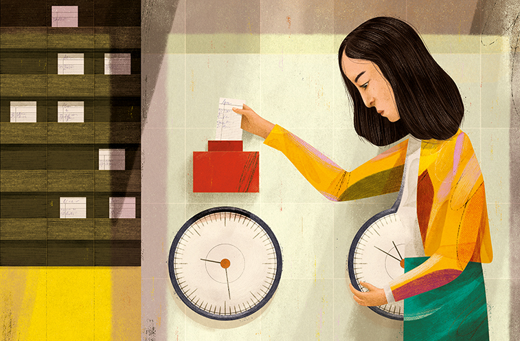 Many women face tension between employment and family responsibilities.
