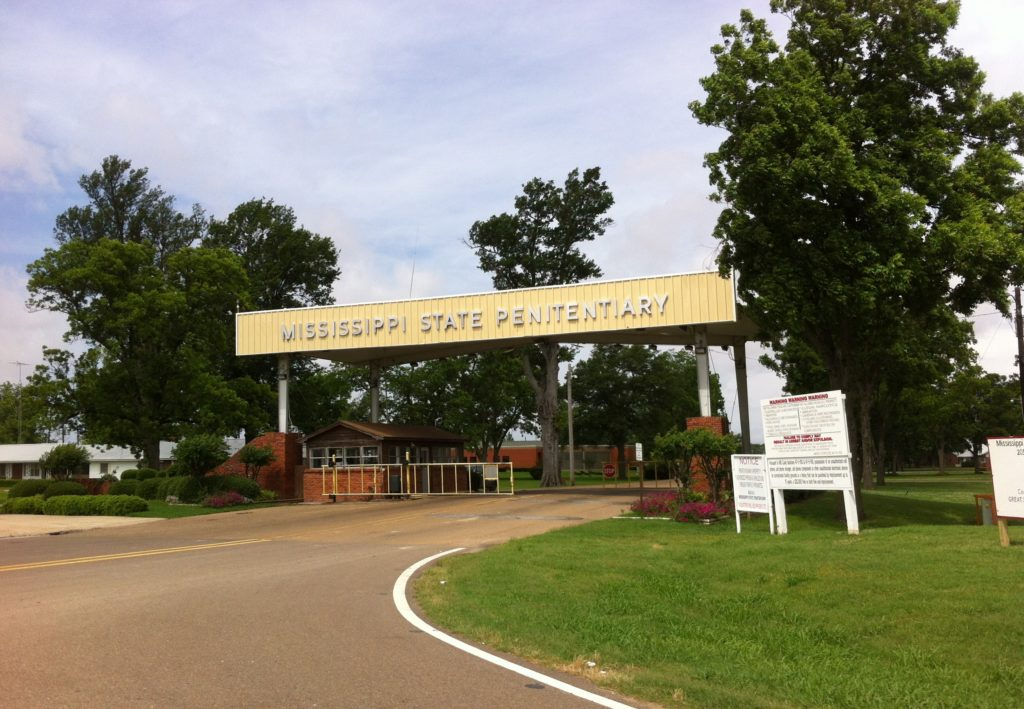Missippi State Penitentiary Credit Parchman Gate New Photo