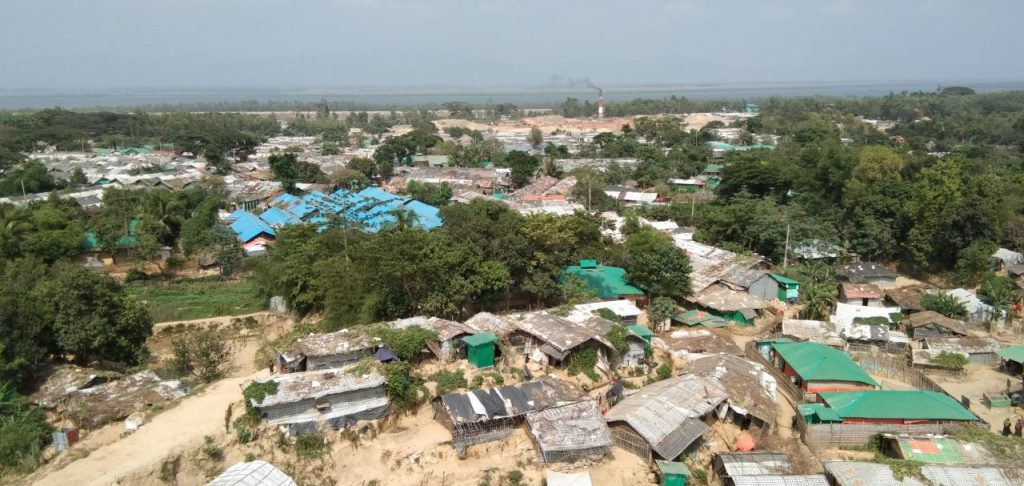 Over 1.1 million Rohingya live in packed conditions across 34 camps in Bangladesh. Credit: Moin Uddin.