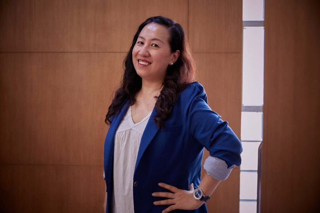 Ada Lo, an advocate for disability rights in Macao