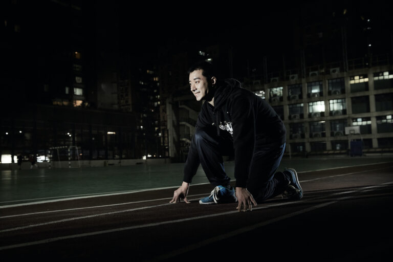 Macau Special Olympics' Track And Field Player Wong Kin Hong 01