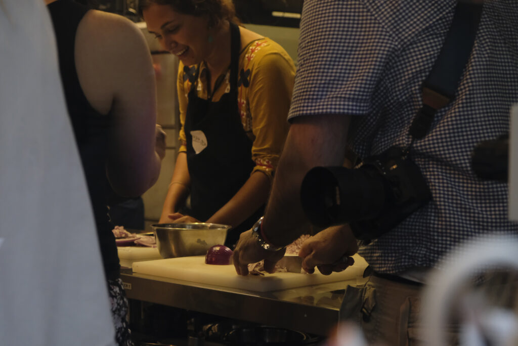 Shama Mashroor A Long Time Volunteer At Table Of Two Cities Helping Out At The World Refugee Day 2018 Event Cred Totc